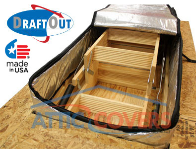Draft Out Attic Door Insulation Attic Stair Insulation