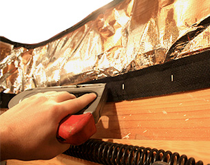 How to install attic insulation