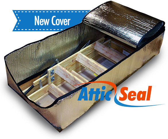 Attic Seal Attic Door Cover  sc 1 th 204 & Attic Seal™ Attic Door Insulation - Attic Stair Insulation | Attic ...