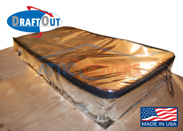 Draft Out Attic Door Insulation Cover